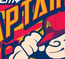 Starfleet Academy Captains Baseball Sticker