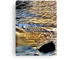 Beachgold Canvas Print