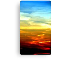 Colors of the Sky Canvas Print