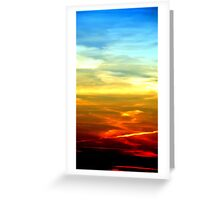 Colors of the Sky Greeting Card