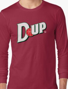 "Vict ""D-up Basketball""  Long Sleeve T-Shirt"
