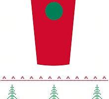 Starbucks Christmas Cup T-Shirt by thugvarys