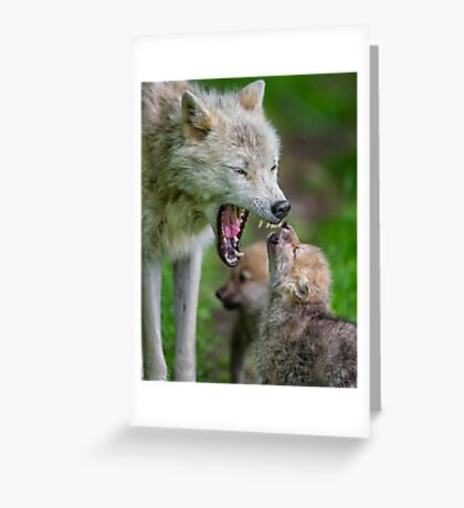 Listen to Mama! Greeting Card