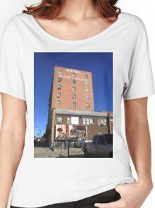 Abilene, Kansas - Hotel Sunflower Women's Relaxed Fit T-Shirt