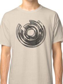 Mind Maze Real 3D Mess Grunge T-Shirt Classic T-Shirt