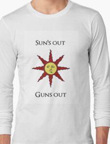 Sun's Out: Guns Out \o/ Long Sleeve T-Shirt