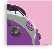 Sky Pink Split Canvas Print