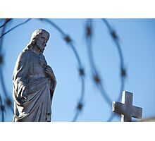 Jesus Suffering Photographic Print