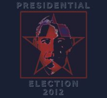 Presidential Election 2012 USA Barack Obama by HomeTimeArt