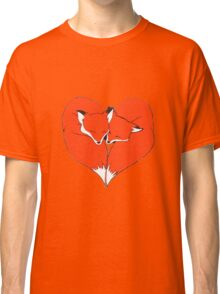 Foxes Mate for Life Classic T-Shirt