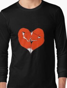 Foxes Mate for Life Long Sleeve T-Shirt