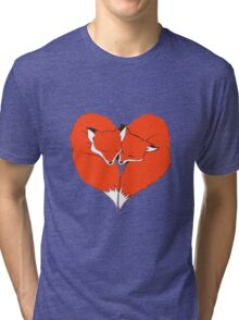 Foxes Mate for Life Tri-blend T-Shirt