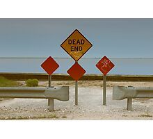 Dead End | Center Moriches, New York Photographic Print