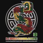 DJ Professor Stone - July 2012 Merch ver 777 black circle rasta text by David Avatara