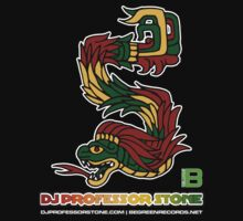 DJ Professor Stone - July 2012 Merch ver 777 no circle rasta text by David Avatara