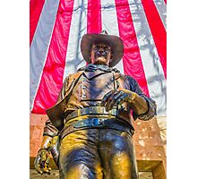 John Wayne Statue Photographic Print