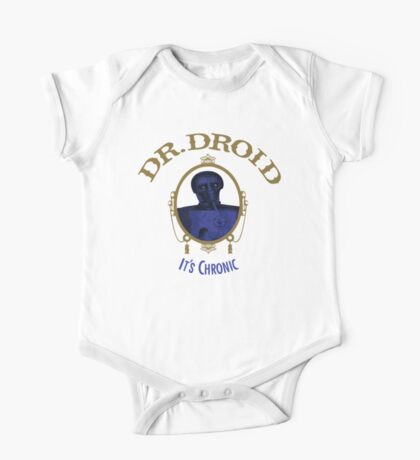Ain't Nuthin' but a Droid Thing Baby One Piece - Short Sleeve