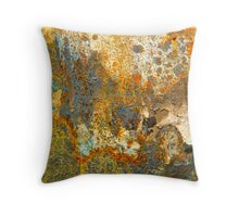Convulsions in the Landscape Throw Pillow