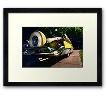 """ Rumble on the Asphalt Jungle "" Framed Print"