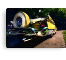 """ Rumble on the Asphalt Jungle "" Canvas Print"