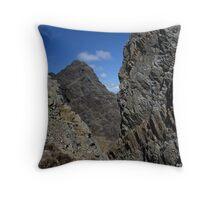 Blaven Rock - Isle of Skye Throw Pillow