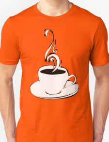 coffee curls Unisex T-Shirt