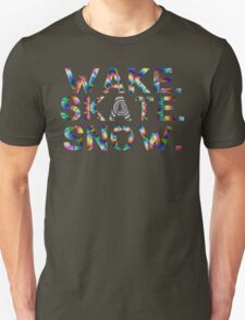 Wake. Skate. Snow. T-Shirt