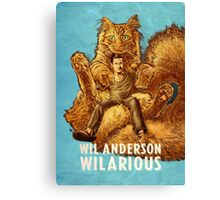 Wil Anderson - Wilarious (portrait) Canvas Print