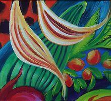 Rainforest 2 by Gillian Toft by gilliantoft
