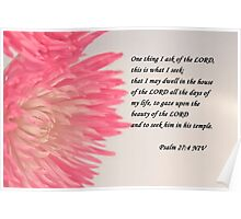 Psalm 27 Poster