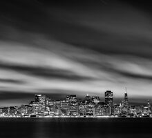 The San Francisco Skyline by Toby Harriman
