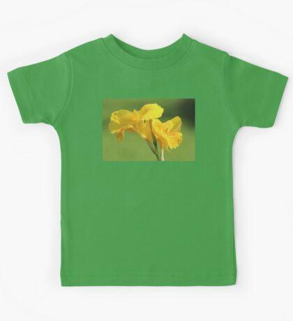 Yellow Canna Lilies Kids Tee