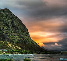 Oahu Contrasts (HDR) by Keith Irving