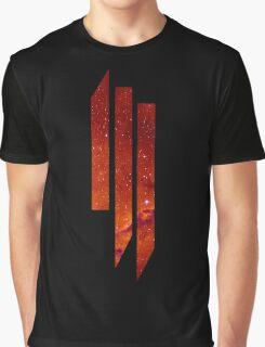 Skrillex galaxy red Graphic T-Shirt