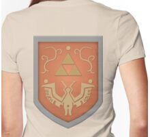 Wind Waker Shield Womens Fitted T-Shirt