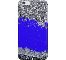 Cement in Blue iPhone Case/Skin