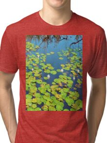 Once Upon a Water Lily Tri-blend T-Shirt