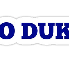 Go Duke Sticker