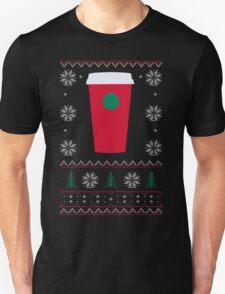 Starbucks Christmas Cup T-Shirt T-Shirt