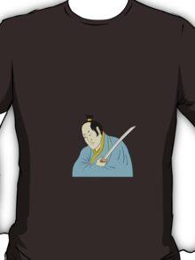 Samurai warrior with katana sword T-Shirt