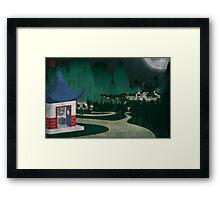 Four Of Seven Framed Print