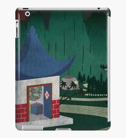 Four Of Seven iPad Case/Skin