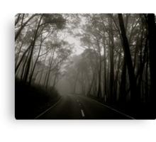 A Volatile Road Canvas Print