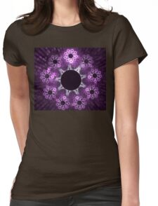 Amethyst Womens Fitted T-Shirt