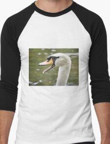 Hey you didn't get my good side Men's Baseball ¾ T-Shirt