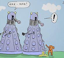 dalek humour by Loui  Jover