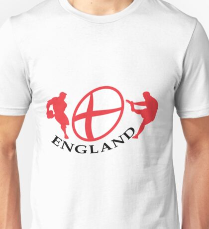england rugby player kicking ball Unisex T-Shirt