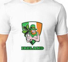 Irish leprechaun rugby player Unisex T-Shirt