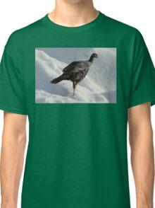 Wild Turkey in the Snow Classic T-Shirt