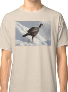 Wild Turkey in the Snow Classic T-Shirt
